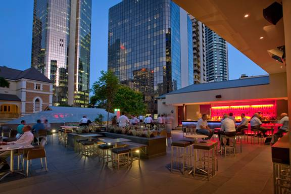 Exchange Rooftop Hotel Brisbane