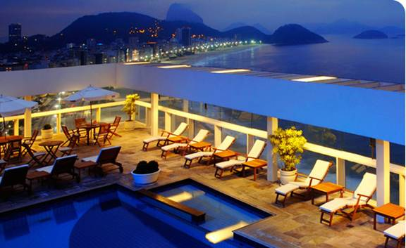 Rio Brasil Rooftop LoungeBest New Bar View