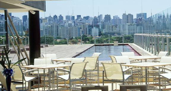 Brazil Rooftop Restaurant Bar Lounge