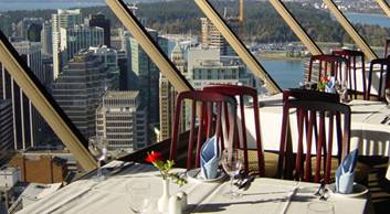 Vancouver Rooftop Top Floor Restaurant Or Bar