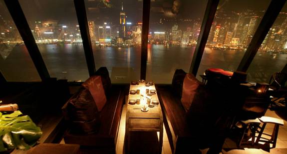 The Restaurant S Home Is Top Floor Of One Which Has Spectacular Views Across Victoria Harbor And Hong Kong Famous Landmarks Email