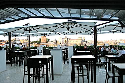 Rome Rooftop & Top Floor Dining & Bar