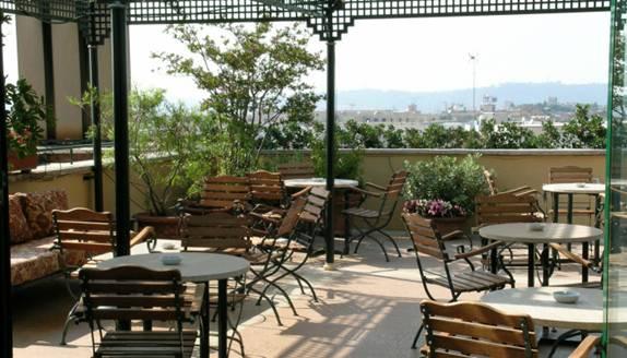 Rome Rooftop Top Floor Dining Bar