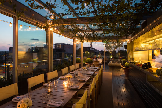 London Rooftop Dining Amp Bar