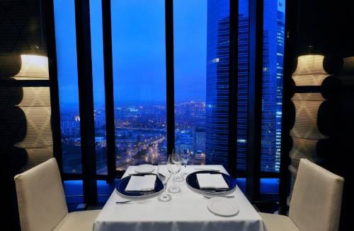 Spain Rooftop Top Floor Restaurant Bar