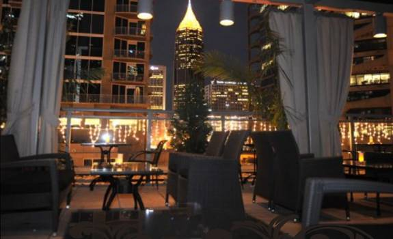 Atlanta Rooftop Top Floor Restaurant Or Bar
