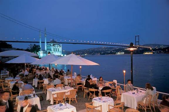 Istanbul Feriye Rooftop Restaurant and  Best New Bar View