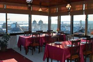 Istanbul Grand Liza Rooftop Restaurant  Best New Bar View