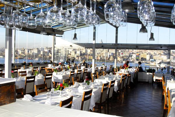 Istanbul Hamdi Rooftop Restaurant  Best New Bar View