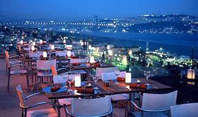 Istanbul Le Vogue rooftop Restaurant Best New Bar View