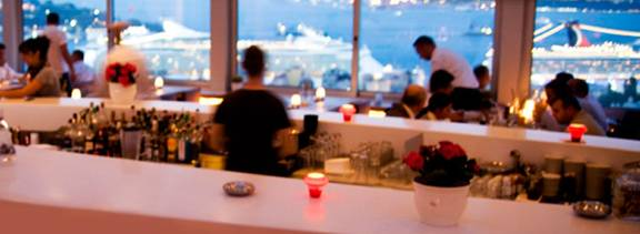 Istanbul Leb Kumbar rooftop restaurant and Bar