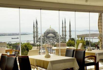 Istanbul Rast Rooftop Restaurant  Best New Bar View