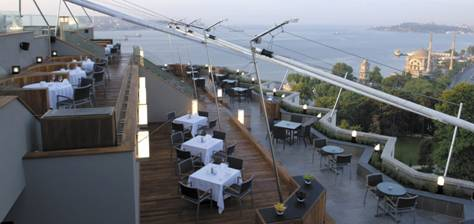 Swisssotel Rooftop Restaurant and Bar Istanbul
