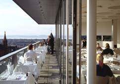 Edinburgh Forth Rooftop Restaurant Best New Bar View