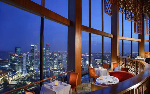 Equinox Singapore Rooftop  Best New Bar View