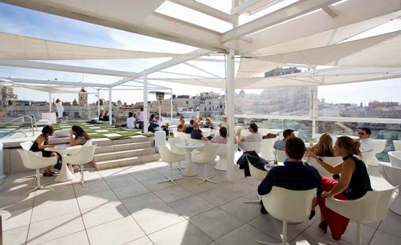 Oscar Madrid Spain Rooftop  Best New Bars View