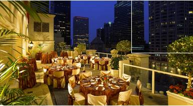 Hilton Checkers Rooftop Bar and Restaurant LA