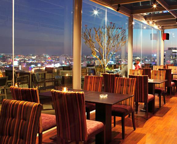 Vietnam Rooftop Shri Ho Chi Minh  Best New Bar View
